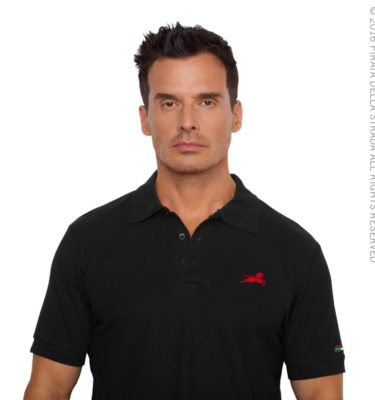 black_front_polo